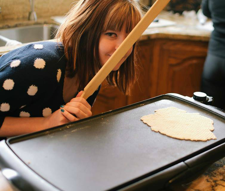 How to make lefse.