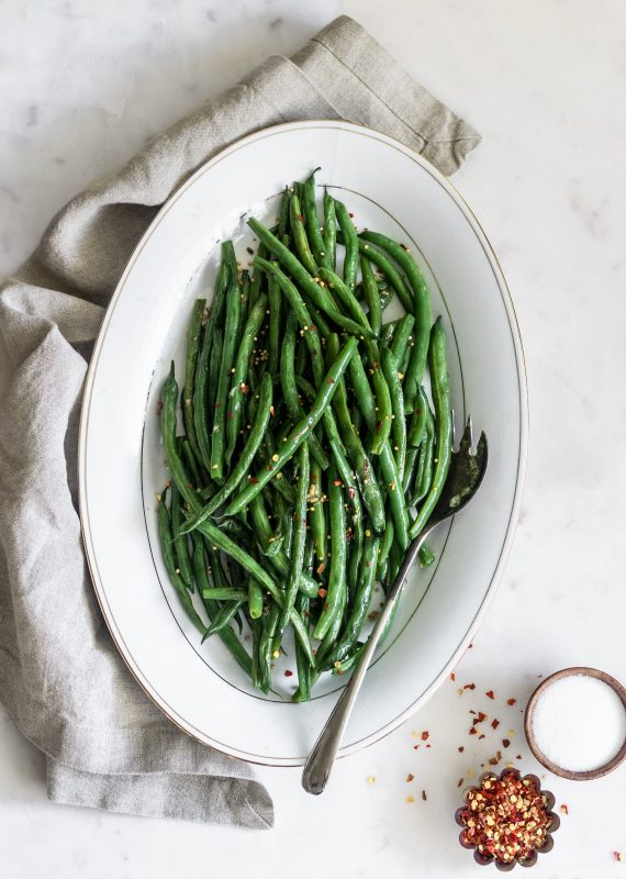 Spicy Indian Green Beans | Serendipity by Sara Lynn