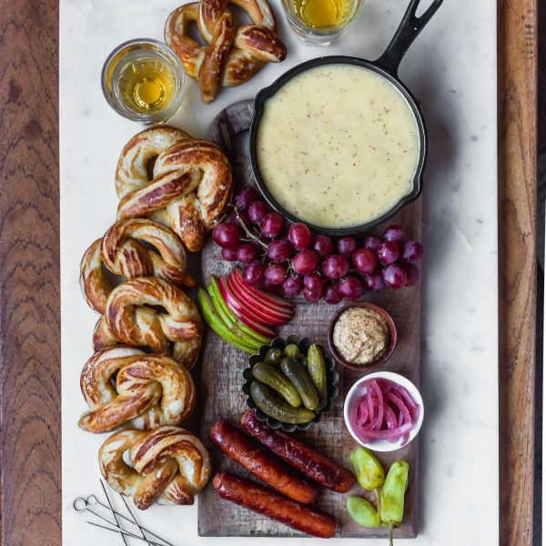 Beer Cheese Fondue + Super Bowl Snacks!